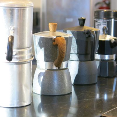 Caffettiera moka, materiali e design. Le aziende che hanno fatto la storia