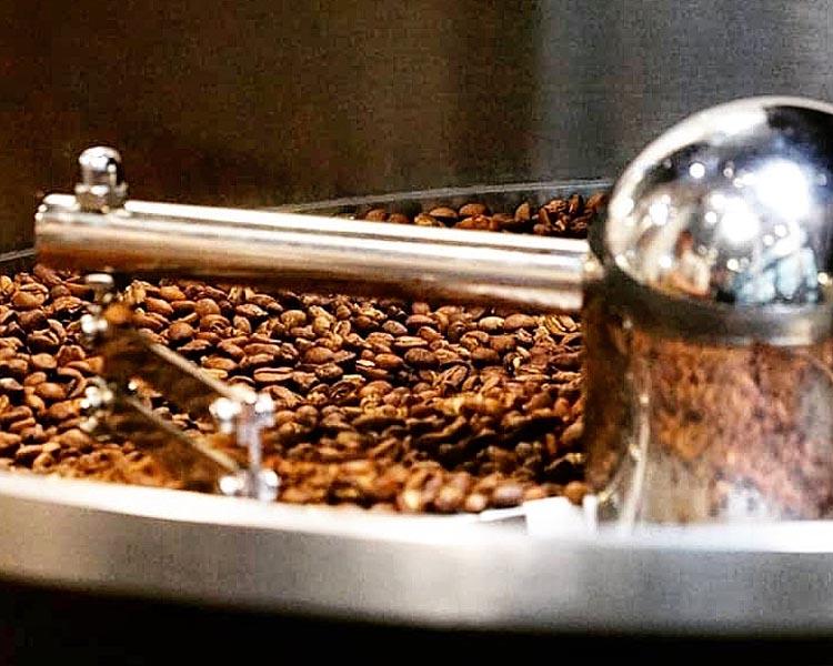 Caffè in torrefazione