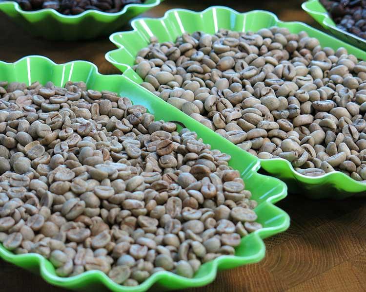 Caffè verde, crudo