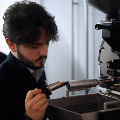 Davide Roveto e la microtorrefazione Caffè Cognetti