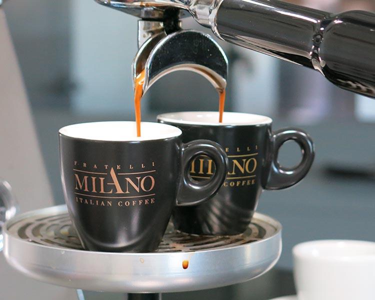 Tazzine caffè dei Fratelli Milano