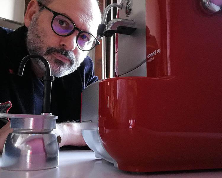 Patrizio Cionfoli caffettiere
