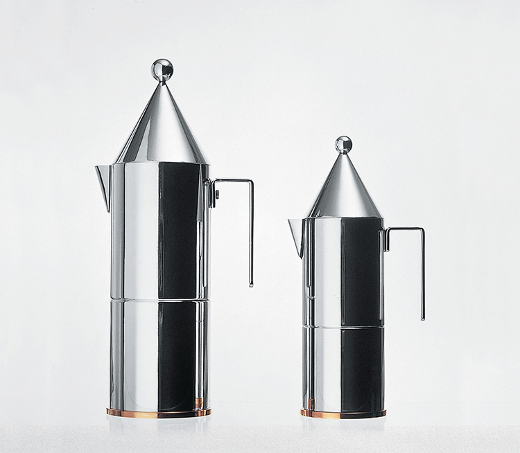 Caffettiera espresso Alessi La conica